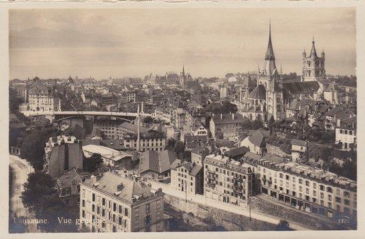 Lausanne - Vue générale