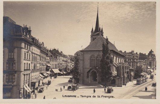 Lausanne - Temple de Saint Francois