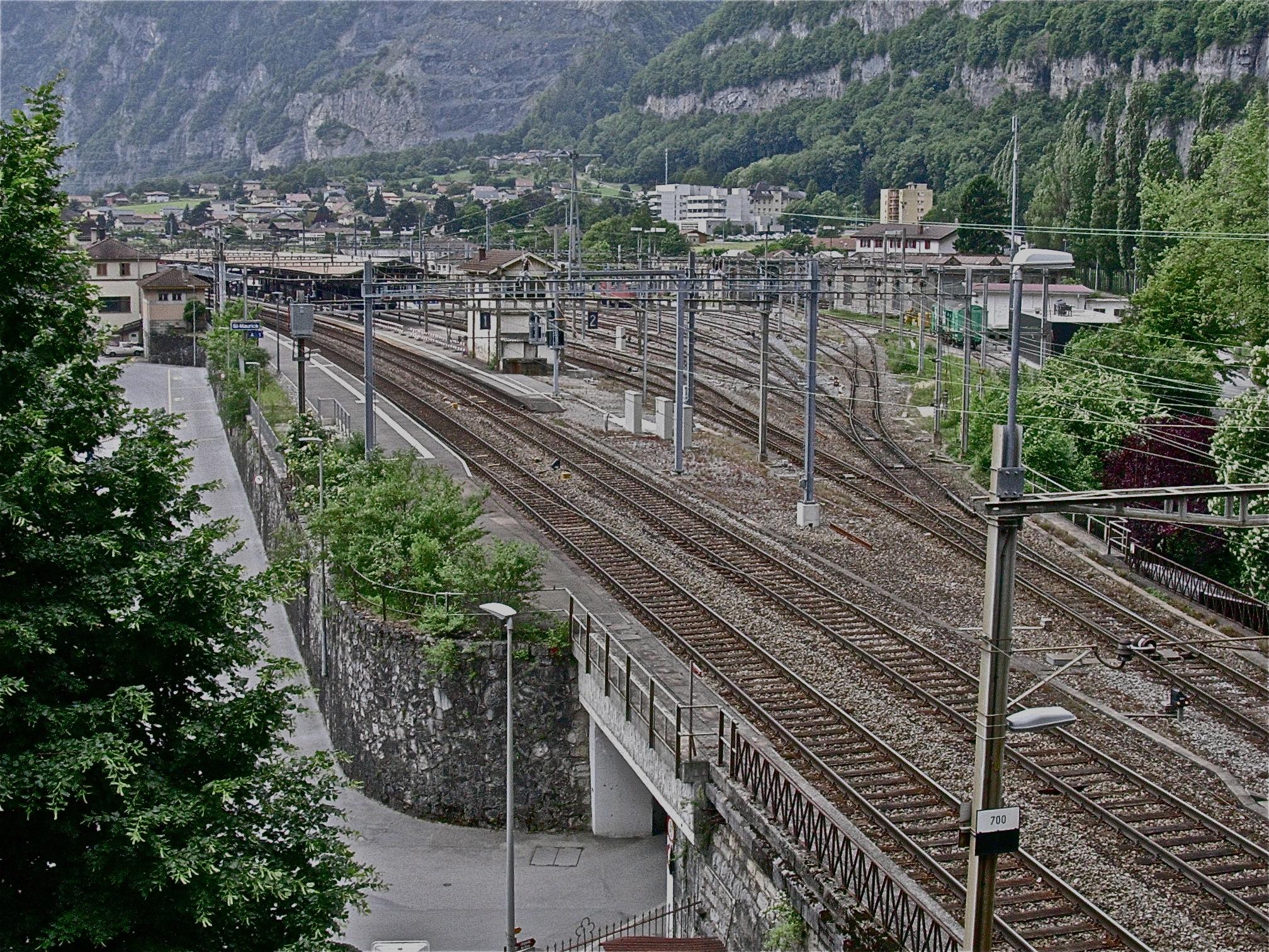 La gare de St-Maurice