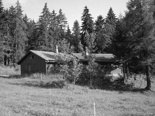 Cabane de Luan, résidence secondaire du Collège Classique Cantonal, CCC