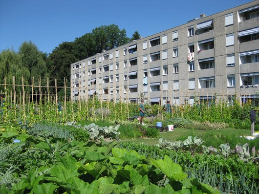 Vivre à Lausanne; le quartier des Boverresses