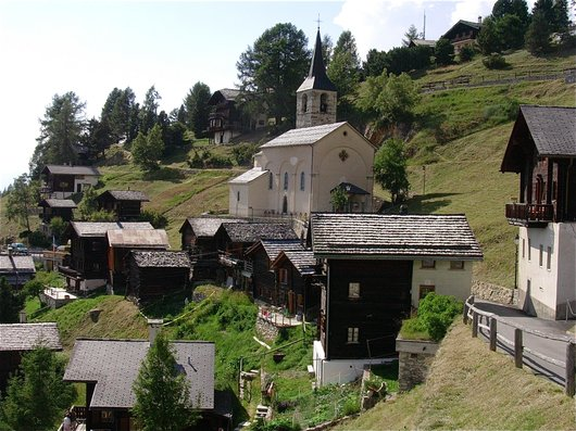 L'Eglise de Chandolin