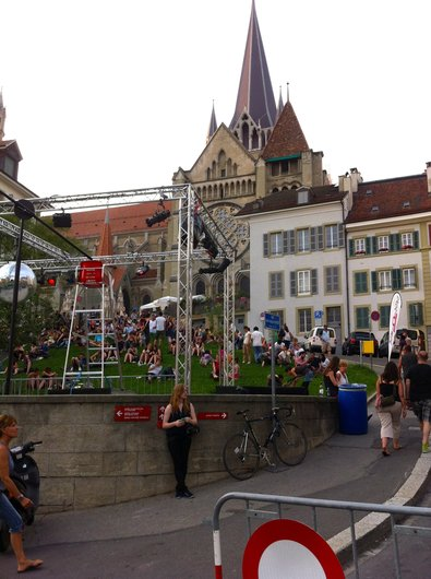 Cath Remix à la Cathédrale de Lausanne