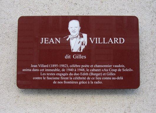 "Jean Villard ""dit Gilles"""