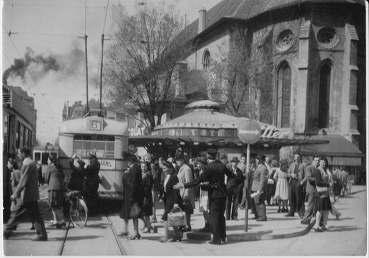 Transports publics de la région lausannoise, il y a cinquante ans....