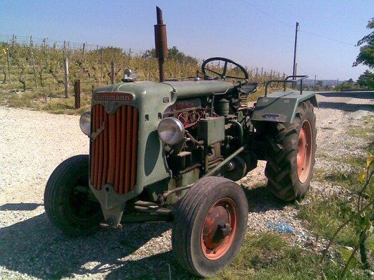 Tracteur Hürlimann