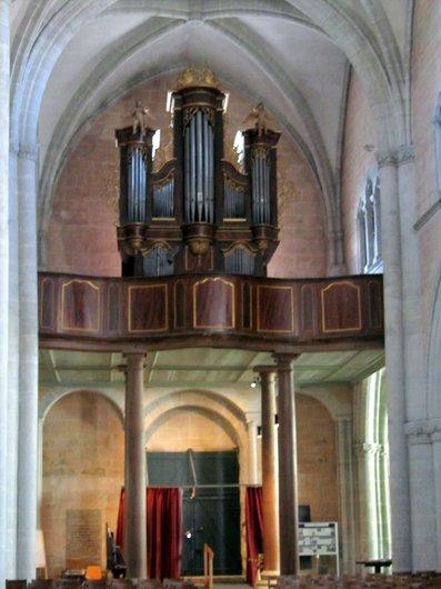 Moudon Temple Saint Etienne
