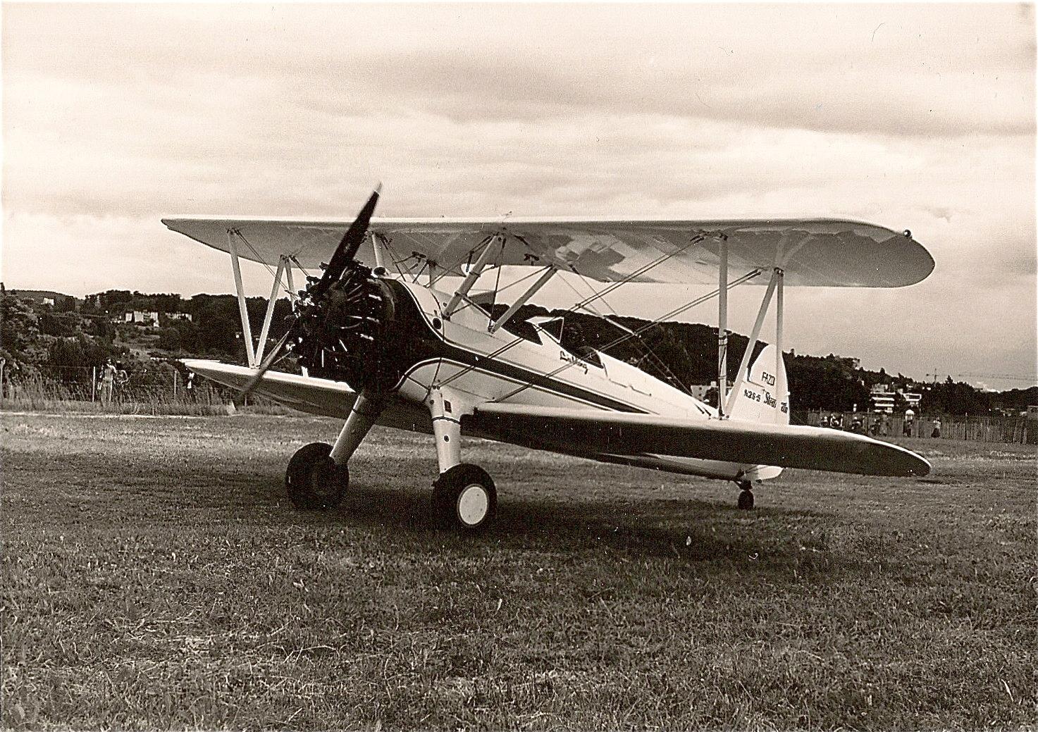 Le biplan Boeing-Stearman
