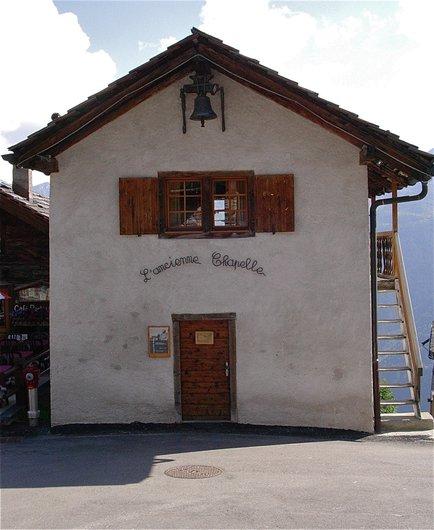 L'ancienne chapelle
