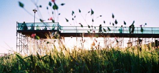 Lausanne Jardins 2000; un voyage poétique dans la ville...