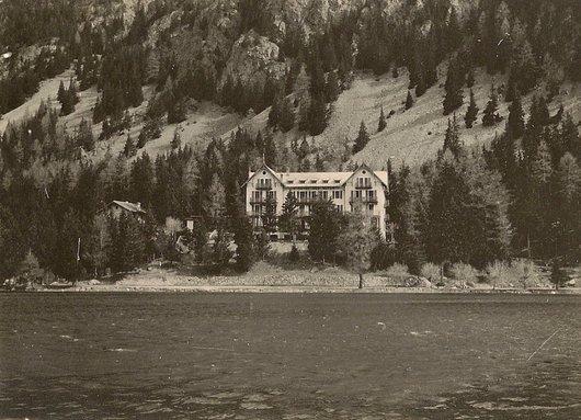 Champex - Grand hôtel des Alpes
