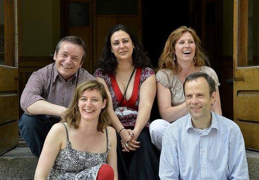 L'équipe du Théâtre en Cavale - saison 2012-2013