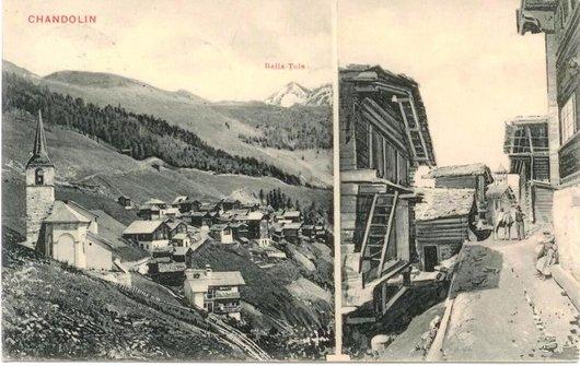 Chandolin en 1908