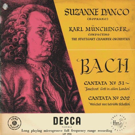 Disque Decca LXT 2926, Recto de la pochette