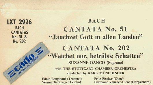 Disque Decca LXT 2926, Détail du verso de la pochette