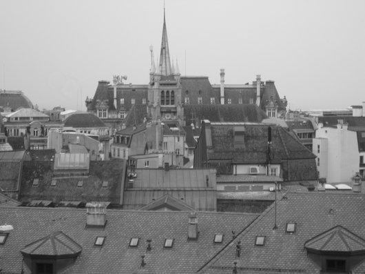 Les toits de Lausanne