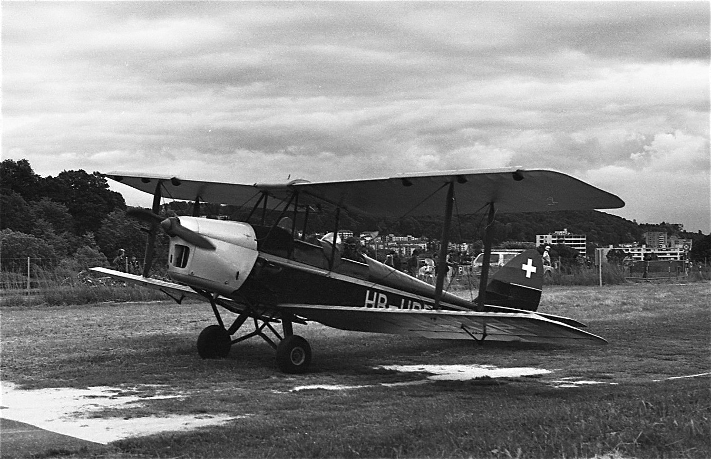 Un De Havilland au meeting