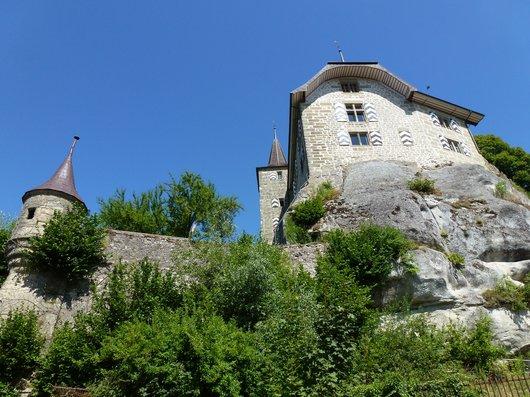 Rue, Fribourg, son château