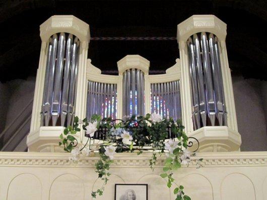 Orgues église Saint Jean de Cour Lausanne