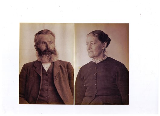 Tobias Holzer(1864-1953) et Katharina Holzer-Jost (1878-1939)