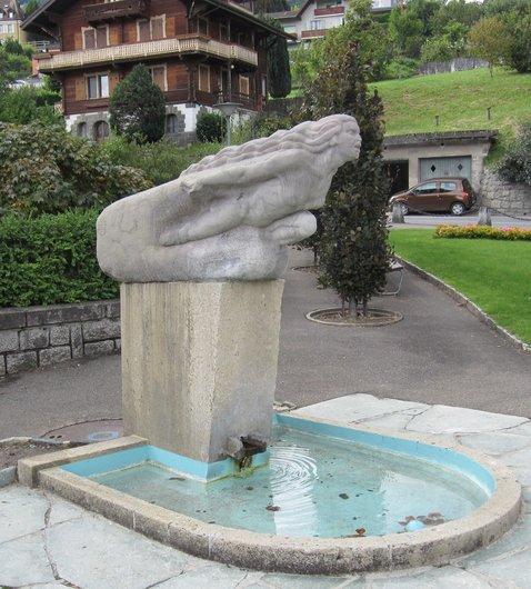 Fontaine la Vièze déchainée, Monthey
