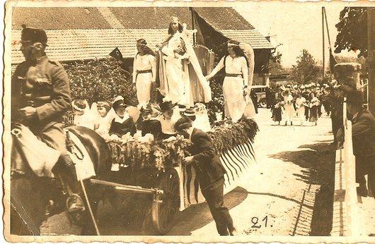 Posieux (FR) Fête des Musiques 2 juin 1935