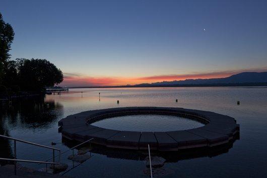Port Gitana à l'aube estivale