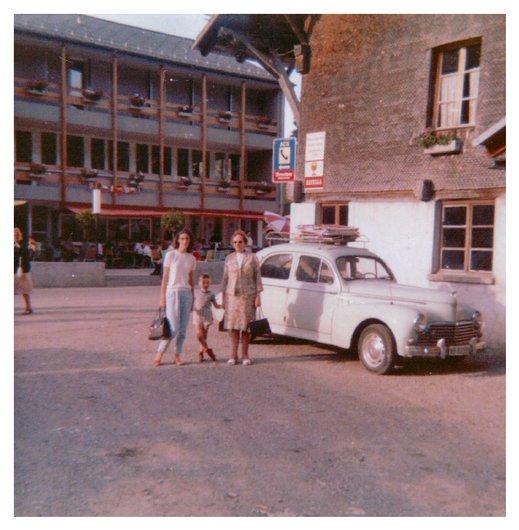 La Peugeot 203 en balade