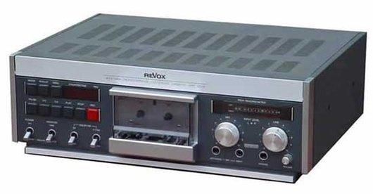 Le Revox - Studer B710 MKII lecteur enregistreur de cassettes
