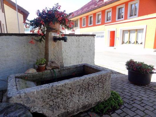 Fontaines à Vaulion