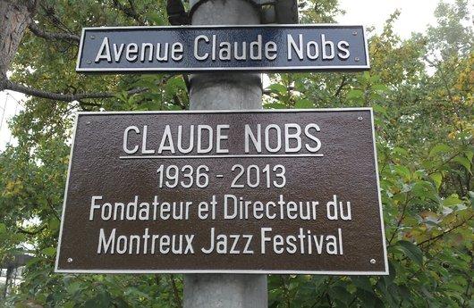 Montreux a son « Avenue Claude Nobs »