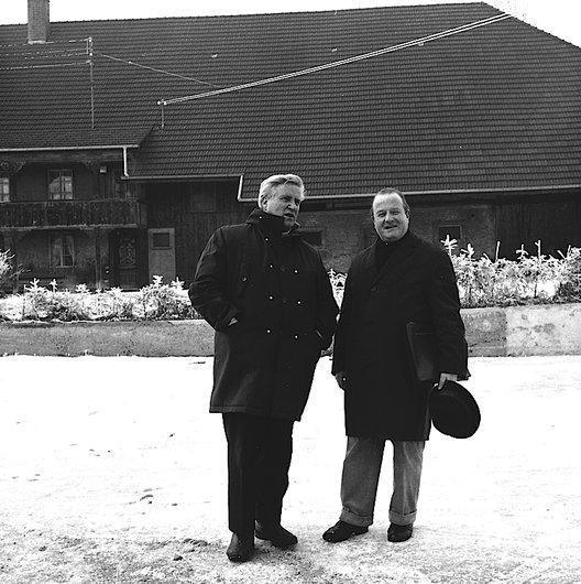 Pierre Kaelin et Charles Jauquier