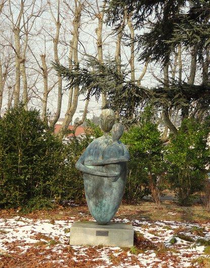 Femme à l'enfant - Oeuvre de Nicolas Delémont