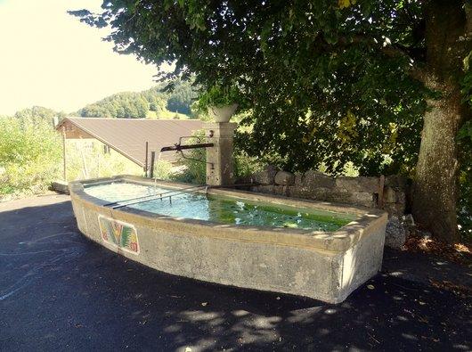 Fontaine de la Creusaz - Vaulion