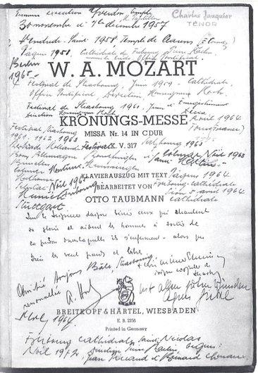 Charles Jauquier chante Mozart