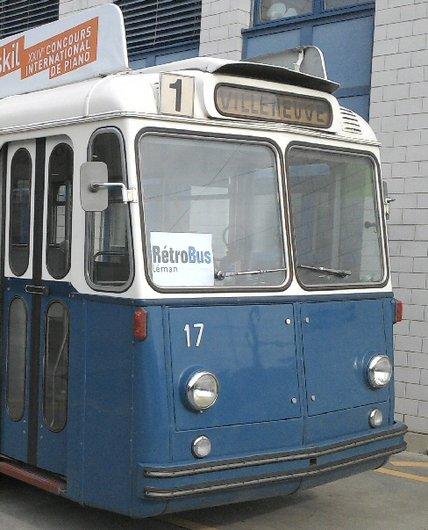 VMCV - Le Premier Trolleybus de 1958