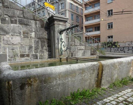 Fontaine du Mont-Blanc - Lausanne