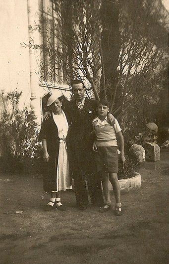 Blanche, Henri et Daniel Quatrevaux