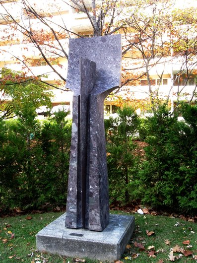 Sculpture d'André Raboud à Martigny