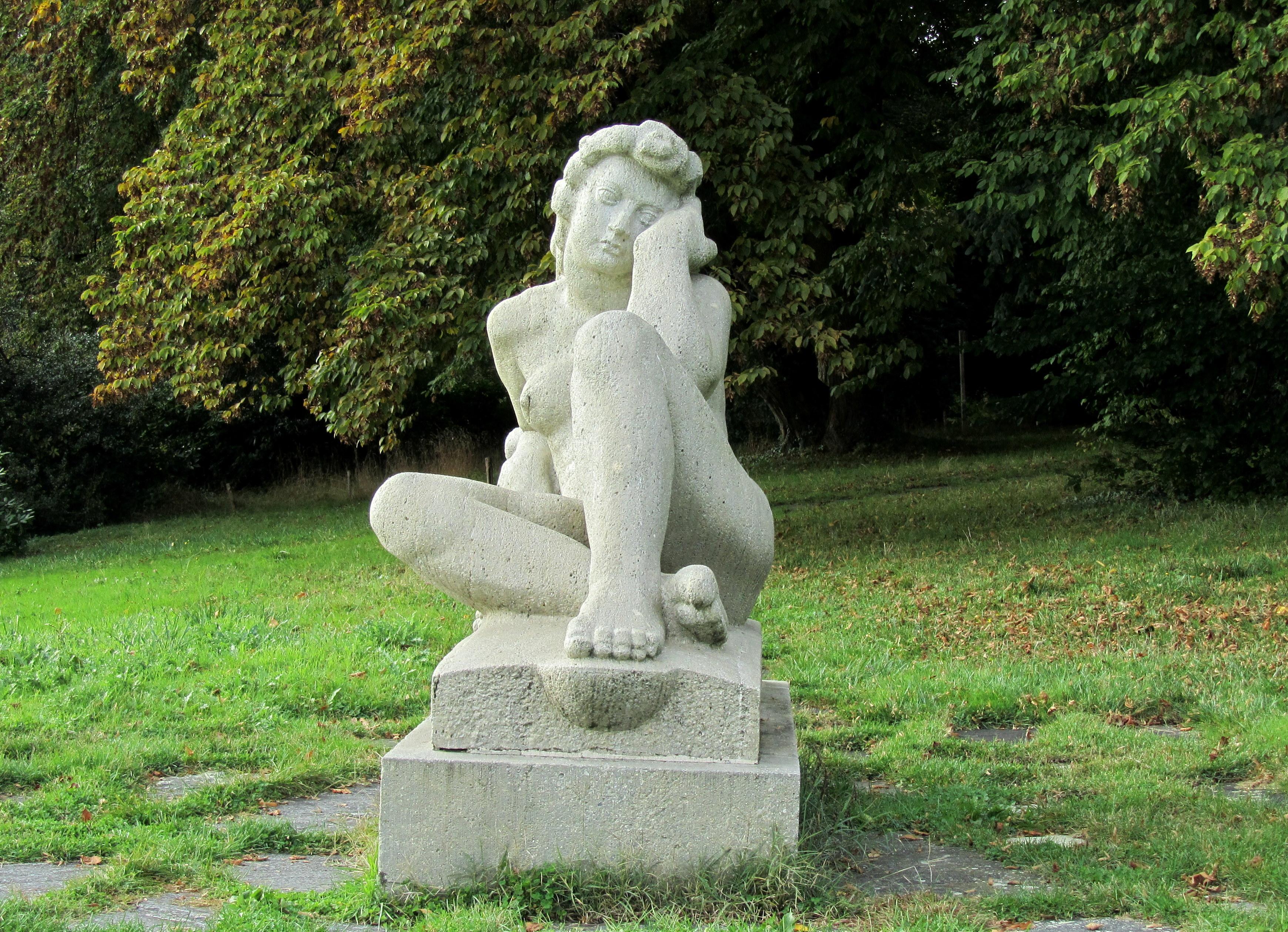 Lausanne Denantou La Vendangeuse de Casimir Reymond