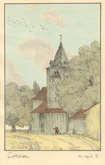 Le Temple de Corsier-sur-Vevey