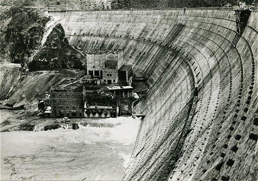 Grande-Dixence, ancien barrage