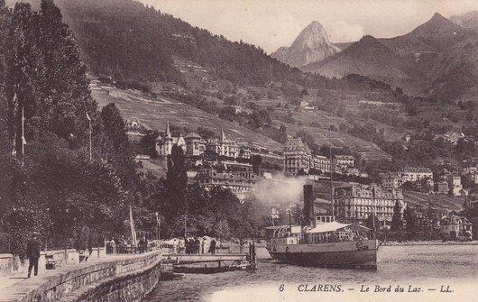 Le débarcadère de Clarens