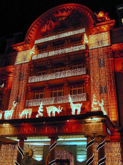 Lausanne illuminé