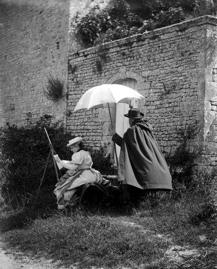 Femme peintre 1904