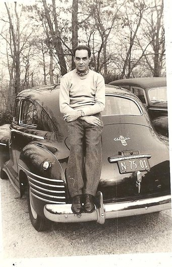 René et sa Chrysler