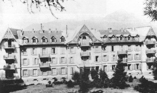 Hôtel de la Pierre-à-Voir, avant 1917, Vollèges