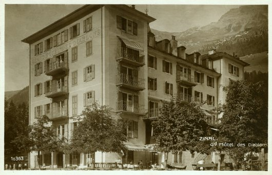 Grand Hôtel des Diablons, Zinal