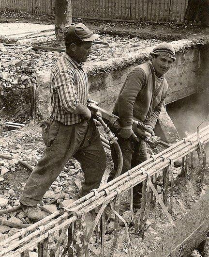 Ouvriers de l'Expo 64