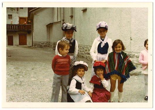 Fête-Dieu 1972 à Grimentz - 2